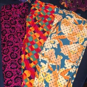 LulaRoe leggings one size new with no tags